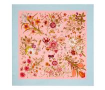 Tuch aus Seide mit Flora-Print