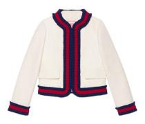 Jacke aus Seide und Baumwolle