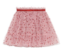 Children's glitter dots tulle skirt