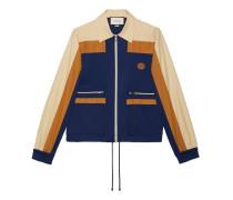 Jacke aus technischem Jersey mit Reißverschluss