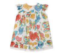 Baby Kleid aus Baumwolle mit Korsage-Print