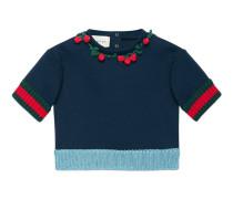 Baby Pullover mit Erdbeeren
