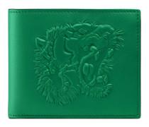 Brieftasche mit Tigerprägung