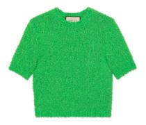 Oberteil aus Bouclé-Baumwolle