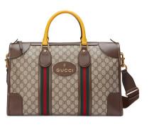 Reisetasche aus weichem GG Supreme mit Web