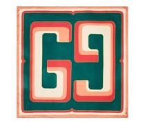 Halstuch aus Seide mit Square GG Print