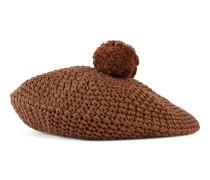 Mütze aus Baumwollstrick
