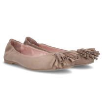 Opal Tassel Ballerina - Beige - 35