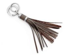Tassel Keyholder - Slate Gray Metalic
