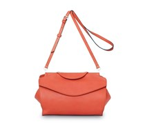 - Oyster Midi Shoulderbag - Coral