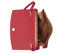 Oyster Clutch Three Red