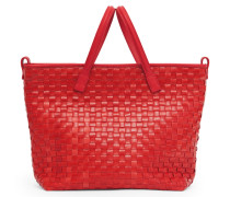 Chess Midi Tote Two - Pepper Red