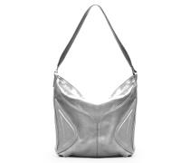 Amber Hobo Three - Sparkling Silver