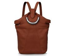Maple Metal Backpack - Whiskey Brown