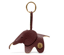 Elephant Keyring - Cordovan Red Gold