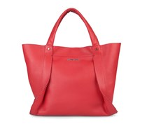 - Opal Tote - Cayenne Red Metalic