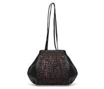 Tango Small Shoulderbag Midnight Torn