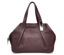 Opal Tote Three - Cordovan Red Silver