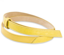 - Belt Nine - Lemon Yellow