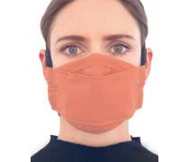 Mund-Nasen-Maske mit Filtertasche -