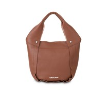 - Opal Midi Tote - Brandy Brown Copper
