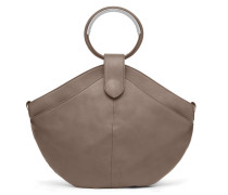 Maple Metal Tote - Taupe