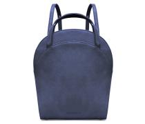 - Ebony Boxy Backpack - Night Blue