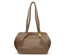 Opal Tote Two - Teak Gold