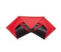 Opal Abendtasche - Cayenne Red Black