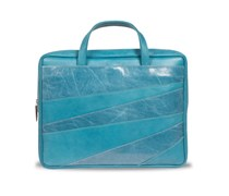 Linear Laptoptasche - Aqua Blue