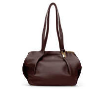 Opal Tote Two - Cordovan Red Gold