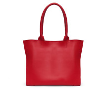 Dahlia Tote - Pepper Red