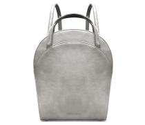 Ebony Boxy Backpack - Sterling Gray