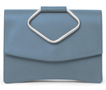 - Oyster Clutch Two - Jeans Blue