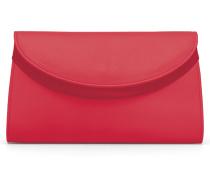 Ebony Clutch - Strawberry Red