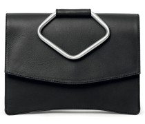 - Oyster Clutch Two - Midnight Black