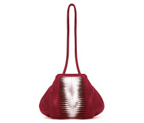 Tango Small Shoulderbag Ray Cranberry Silver