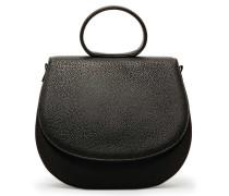 Ebony Loop Bag Two Midnight Black Circles