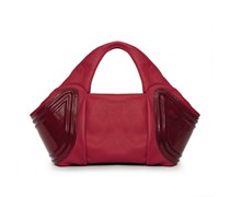 - Tango Small Tote - Royal Red Patent