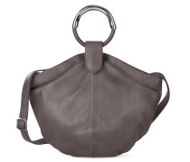 - Maple Metal Tote - Stone Gray