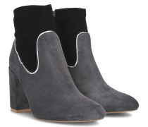 Cassia Piped Boot - Gray - 36