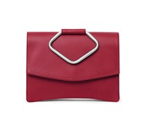 - Oyster Clutch Two - Royal Red