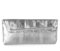 Lyra Clutch - Sparkling Silver
