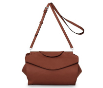 Oyster Midi Shoulderbag - Whiskey Brown