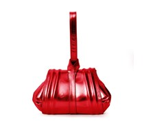Tango Mini Abendtasche - Fire Red Metallic