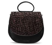 Ebony Loop Bag Two - Midnight Black Torn