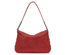 - Crease Duffle Tasche - Soft Red