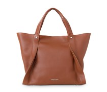 Opal Tote - Brandy Brown Copper