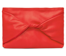 Cassia Bow Abendtasche - Pepper Red