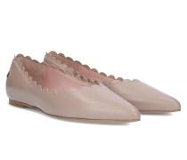 Maple Frilled Ballerina - Beige - 35